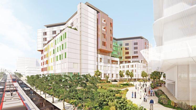Sydney Children's Hospital Stage 1